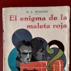 Libros antiguos: EL ENIGMA DE LA MALETA ROJA. Lote 167287184
