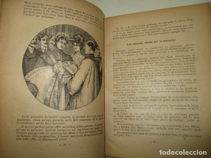 Libros antiguos: LE GUIDE DES CONVENANCES...LISELOTTE. c.1907. - Foto 4 - 167429060