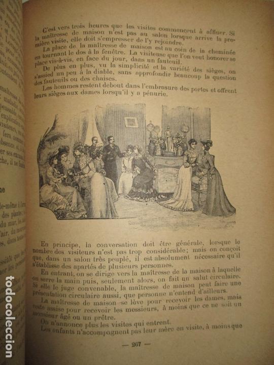 Libros antiguos: LE GUIDE DES CONVENANCES...LISELOTTE. c.1907. - Foto 6 - 167429060