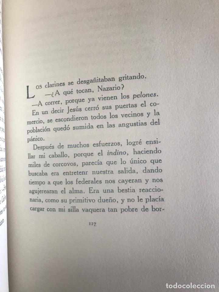 Libros antiguos: Mi caballo mi perro y mi rifle por j. Ruben Romero menudo revolucion mejicana - Foto 5 - 167502286