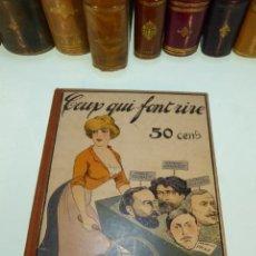 Libros antiguos: CEUX QUI FONT RIRE. REVUE DE L'HUMOUR. MARCEL PREVOST, CAMI, ROBERT FANCHEVILLE. PARÍS. 1912.. Lote 167578612