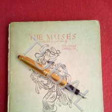 Libros antiguos: TUBAL BELLOS DIBUJOS THE MUSES TRADUCED IN PICTURES BY THOMAS DERRICK 1933. Lote 167601864