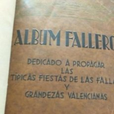 Libros antiguos: ALBUM FALLERO 1932. EDITORIAL RIVADENEYRA MADRID. VALENCIA REPUBLICA.. Lote 167602048