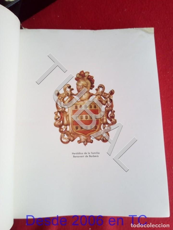 Libros antiguos: TUBAL PERE BENAVENT BARBERA LIBRO - Foto 5 - 167610264