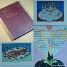 Libros antiguos: RECETAS SELECTAS PARA COCINAS MODERNAS, AÑO 1934. Lote 167637588
