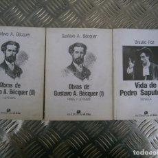 Libros antiguos: OBRAS DE GUSTAVO,A, BECQUER¡¡¡¡¡. Lote 167706636