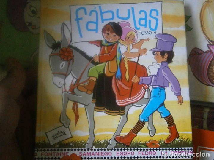 FABULAS TOMO -4 (Libros Antiguos, Raros y Curiosos - Literatura - Otros)