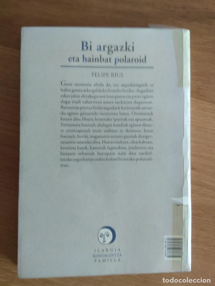 Libros antiguos: bi argazki eta hainbat polaroid de felipe rius - Foto 2 - 167786664