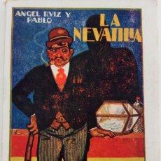 Libros antiguos: BIBLIOTECA PATRIA TOMO 90 - LA NEVATILLA - POR ANGEL RUIZ Y PABLO. Lote 167803612