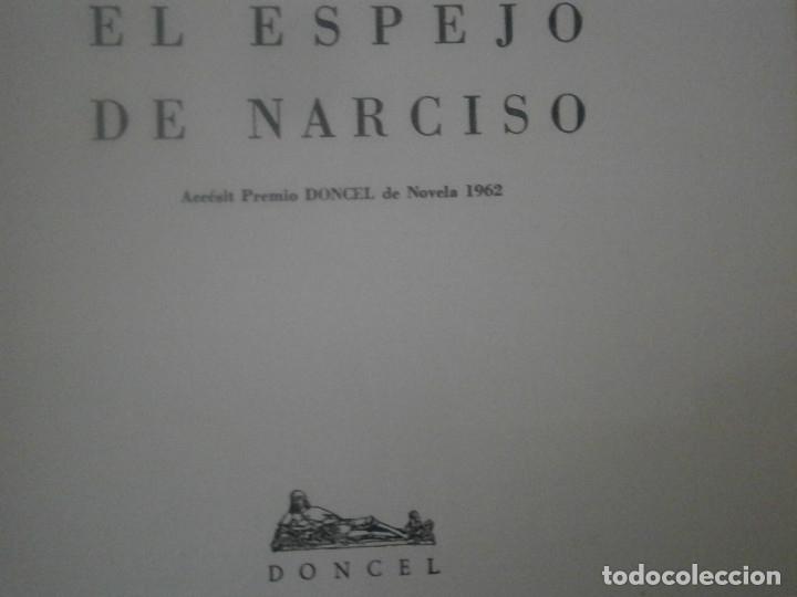 Libros antiguos: EL ESPEJO DE NARCISO - Foto 5 - 167825600