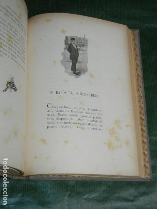 Libros antiguos: TIPOS TRASHUMANTES, DE JOSE M. DE PEREDA - 1897 - Foto 3 - 167850656
