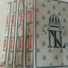 Libros antiguos: NAPOLEÓN III-4 TOMOS-OBRA COMPLETA - SAINT-AMAND-ILUSTRADA-MONTANER Y SIMÓN-1898/1899. Lote 167864084