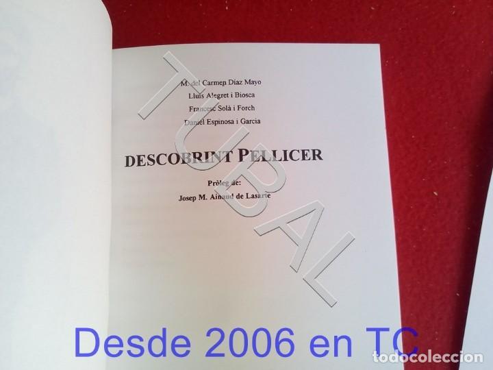 Libros antiguos: TUBAL DESCOBRINT PELLICER LIBRO - Foto 2 - 167865828