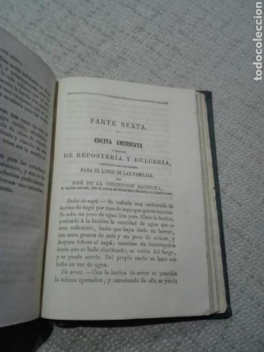 Libros antiguos: EL LIBRO DE LAS FAMILIAS DE COCINA ESPAÑOLA, FRANCESA Y AMERICANA - MAS DE 2000 FORMULAS - 1879 - Foto 7 - 167888117