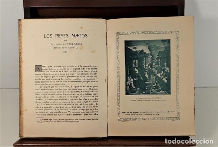 Libros antiguos: MI LIBRO DE REYES. FORTUNATO T. EDIT. HIJOS DE SANTIAGO RODRÍGUEZ. BURGOS. 1922. - Foto 5 - 167904432