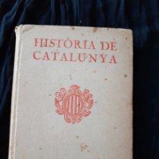 Libros antiguos: HISTÒRIA DE CATALUNYA. MOSSEN NORBERT FONT I SAGUÉ.. Lote 167914450