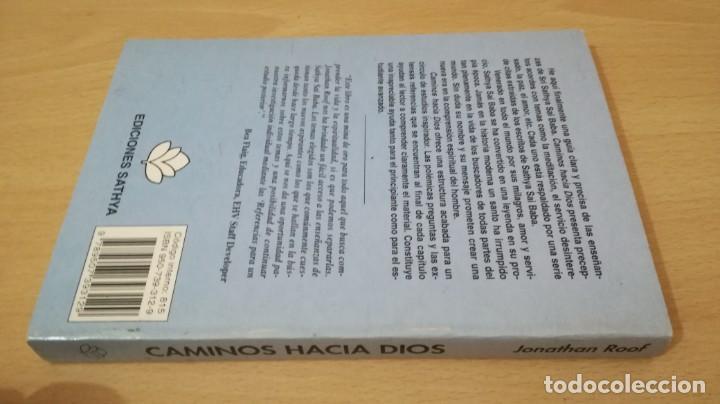 Libros antiguos: CAMINOS HACIA DIOS - JONATHAN ROOF - SAI RAM - Foto 2 - 167997396