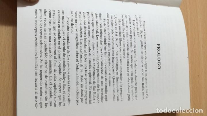 Libros antiguos: CAMINOS HACIA DIOS - JONATHAN ROOF - SAI RAM - Foto 8 - 167997396