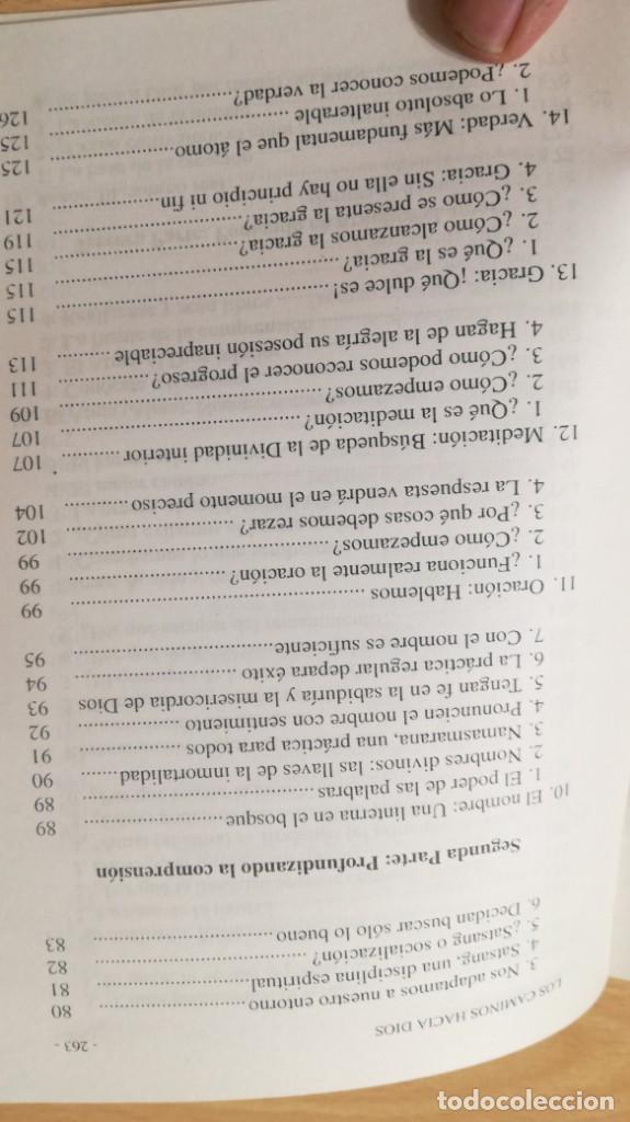 Libros antiguos: CAMINOS HACIA DIOS - JONATHAN ROOF - SAI RAM - Foto 12 - 167997396