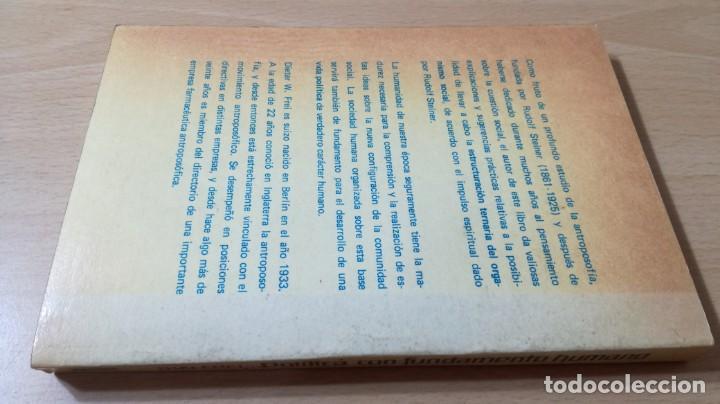 Libros antiguos: POLITICA COMO FUNDAMENTO HUMANO - DIETER W FREI - UNA NECESIDAD SOCIAL - EPIDAURO - Foto 2 - 167997816