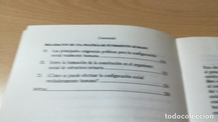 Libros antiguos: POLITICA COMO FUNDAMENTO HUMANO - DIETER W FREI - UNA NECESIDAD SOCIAL - EPIDAURO - Foto 6 - 167997816