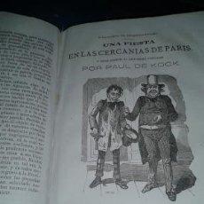 Libros antiguos: UN JUAN LANAS EN BUSCA DE SU MUGER / UN MARIDO PERDIDO. EL MAESTRO DE ESCUELA / LA NODRIZA... . Lote 167888600