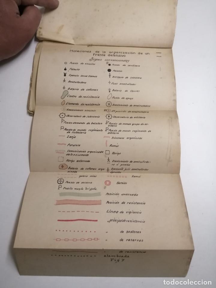 Libros antiguos: Reglamento de organización y preparación del terreno para el combate. 1927 Madrid. Tomo I Láminas. - Foto 2 - 168033532