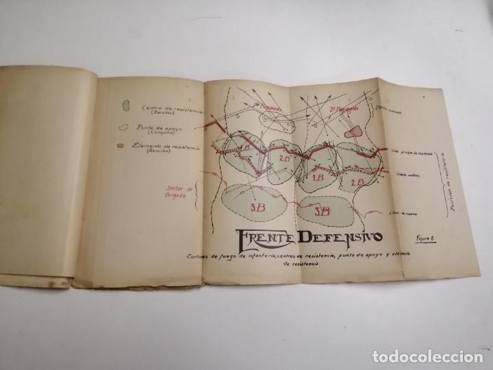 Libros antiguos: Reglamento de organización y preparación del terreno para el combate. 1927 Madrid. Tomo I Láminas. - Foto 4 - 168033532