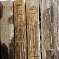 Libros antiguos: DISCOURS ET OPINION. JOURNAL ET SOUVENIRS DE SAS. GIRARDIN. 4 TOMES-COMPLET. MEMOIRES. 1828.. Lote 168040168