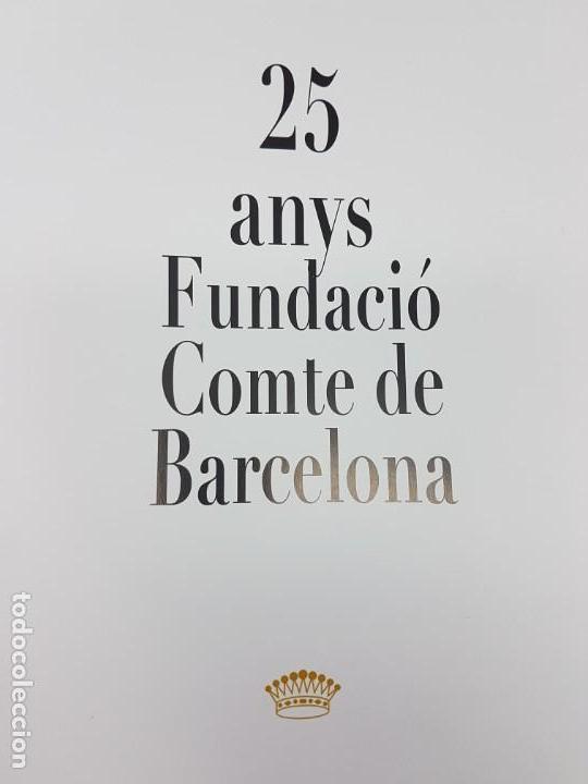 Libros antiguos: 25 ANYS FUNDACIÓ CMTE DE BARCELONA ( 2011 ) - Foto 2 - 168064316