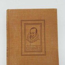 Libros antiguos: VIDA Y DESVENTURAS DE MIGUEL DE CERVANTES ( POR MARIANO TOMAS ). Lote 168064876