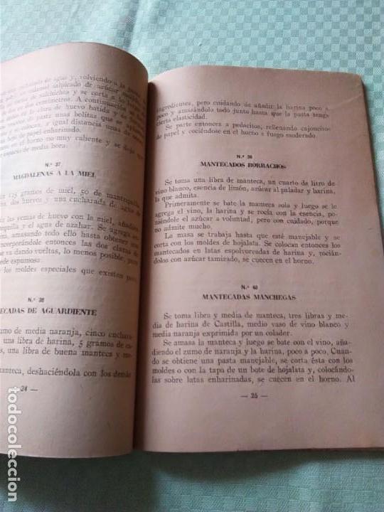 Libros antiguos: LOS POSTRES. BIBLIOTECA EL AMA DE CASA. De G. Bernard de Ferrer - Foto 3 - 168183660