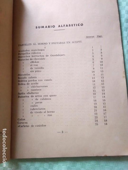 Libros antiguos: LOS POSTRES. BIBLIOTECA EL AMA DE CASA. De G. Bernard de Ferrer - Foto 7 - 168183660