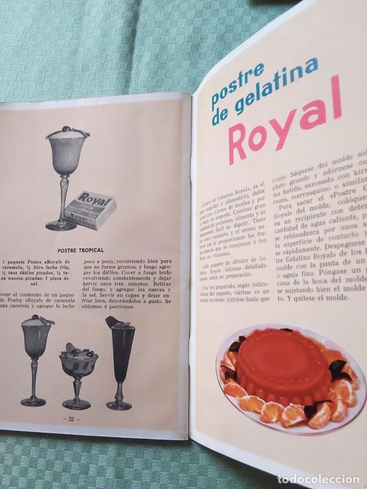 Libros antiguos: ROYAL librito de fórmulas - Foto 4 - 168183712