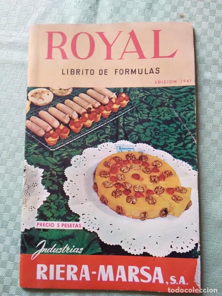 ROYAL LIBRITO DE FÓRMULAS (Libros Antiguos, Raros y Curiosos - Cocina y Gastronomía)
