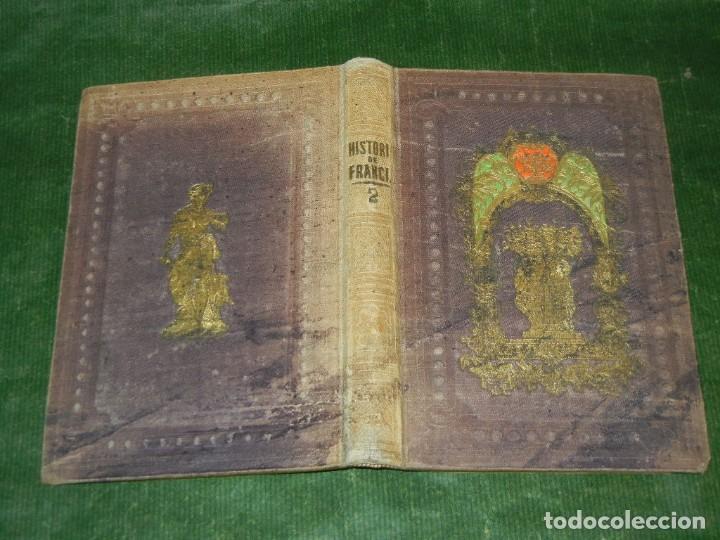 HISTORIA DE LOS FRANCESES - VOL 2, DE TEOFILO LAVALEE - 1859 (Libros Antiguos, Raros y Curiosos - Historia - Otros)