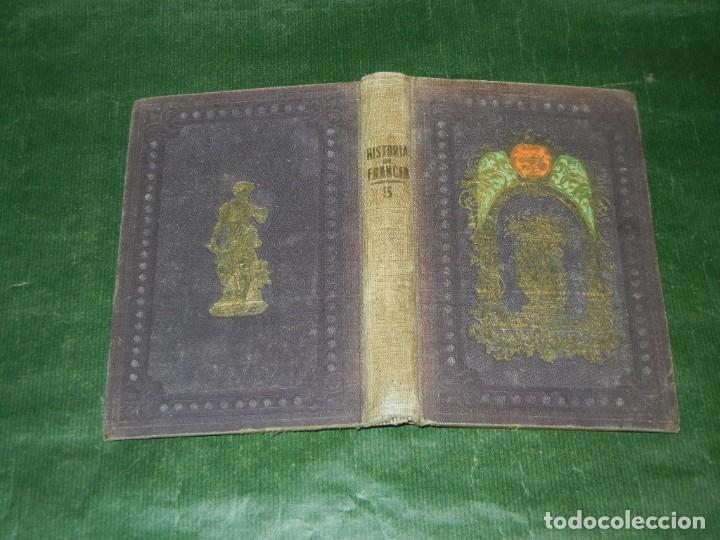 HISTORIA DE LOS FRANCESES - VOL 5, DE TEOFILO LAVALEE - 1859 (Libros Antiguos, Raros y Curiosos - Historia - Otros)