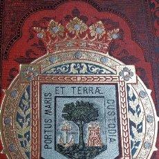 Libros antiguos: RODRIGO AMADOR DE LOS RIOS. HUELVA MONUMENTOS ARTE NATURALEZA HISTORIA. BARCELONA 1891. Lote 168234420