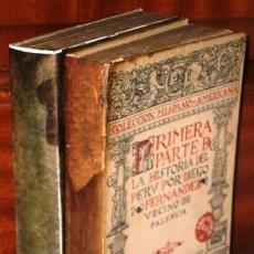 Libros antiguos: LA HISTORIA DEL PERÚ 2T POR DIEGO FERNÁNDEZ, VECINO DE PALENCIA / ED. HISPANIA MADRID 1913-1915. Lote 230315440