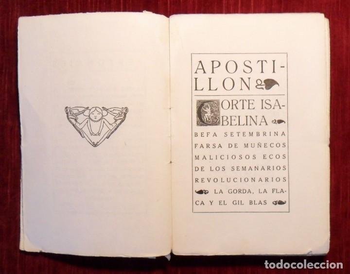 Libros antiguos: Farsa Y Licencia De La Reina Castiza. Don Ramón Del Valle Inclán. 1ª Edición. Barcelona 1922. - Foto 2 - 168377068