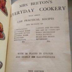 Libros antiguos: MRS BEETON´S EVERYDAY COOKING, EN INGLÉS, 1923, POR MRS BEETON. Lote 168388440