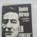 Libros antiguos: DIONISIO RIDRUEJO PRESENTA SU LIBRO EN BREVE, REVISTA LITORAL 51-52, 1975. Lote 168447972