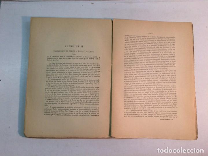 Libros antiguos: Guia Histórica y descriptiva del Archivo General de Simancas (1920) - Foto 6 - 168466408