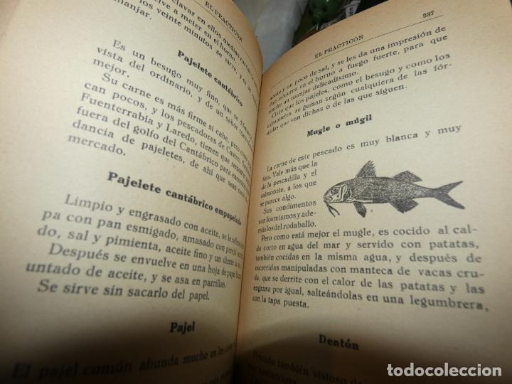 Libros antiguos: El Practicón, tratado completo de cocina, Angel Muro año 1928. 581 págs. bien conservado - Foto 3 - 168497736
