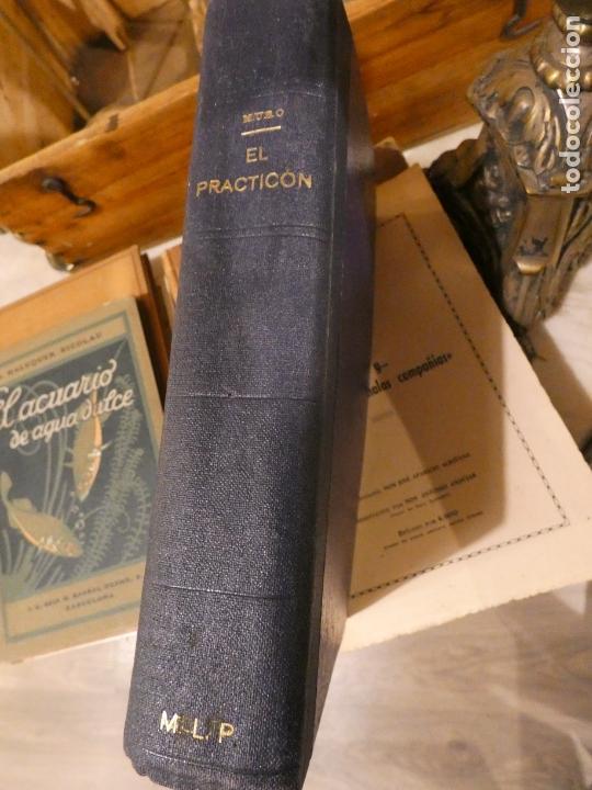 Libros antiguos: El Practicón, tratado completo de cocina, Angel Muro año 1928. 581 págs. bien conservado - Foto 7 - 168497736