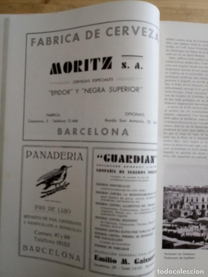 Libros antiguos: BARCELONA 1934 - 1935 - ANUARIO DE LA CIUDAD - SOCIEDAD DE ATRACCION DE FORASTEROS - Foto 4 - 168540236
