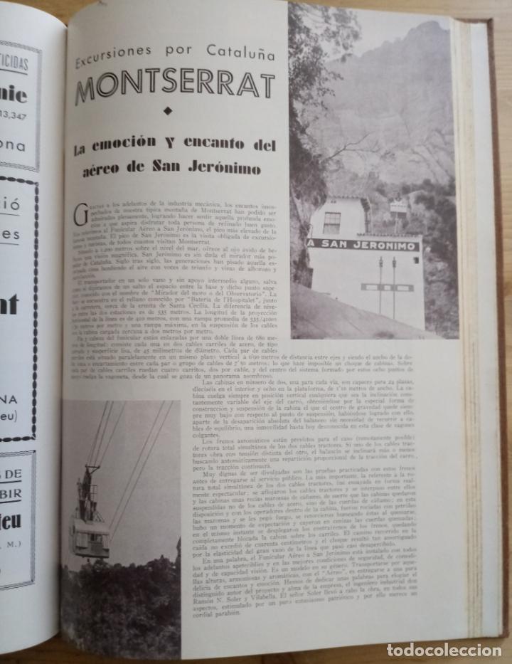 Libros antiguos: BARCELONA 1934 - 1935 - ANUARIO DE LA CIUDAD - SOCIEDAD DE ATRACCION DE FORASTEROS - Foto 9 - 168540236