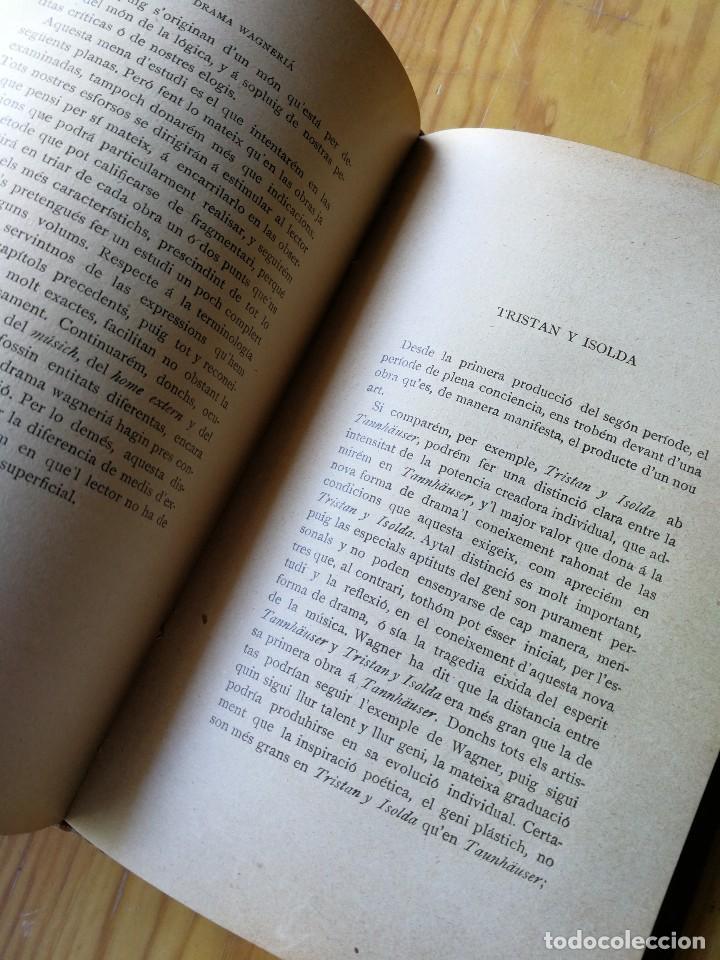 Libros antiguos: EL DRAMA WAGNERIÀ- HOUSTON STEWARD CHAMBERLAIN (JOAQUIM PERA),ASSOCIACIÓ WAGNERIANA (BARCELONA),1902 - Foto 6 - 168567928