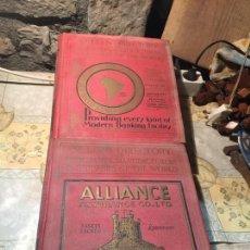 Libros antiguos: ANTIGUOS 2 LIBRO / LIBROS KELLY´S DIRECTORY OF HERCHANTS MANUFACTURERS. A-COM-328. Lote 168644040