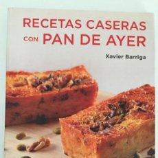 Livros antigos: RECETAS CASERAS CON PAN DE AYER. Lote 168670296